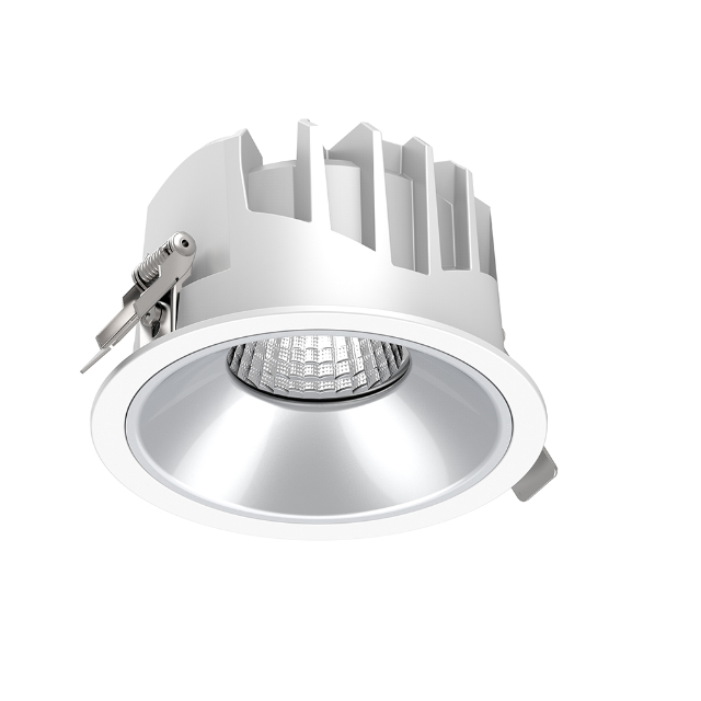 מקורה led למטה אור COB עגול Dimmable משטח שקוע 12w LED <span class=keywords><strong>Downlight</strong></span> 7w 15w 30w 40w