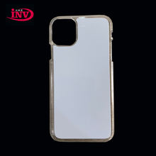 clear color 2d pc sublimation phone case for iphone 11