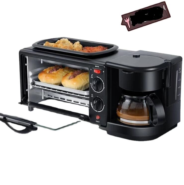 Multipurpose Auto Switch Portable Household Bread Toaster and Coffee Maker For Home