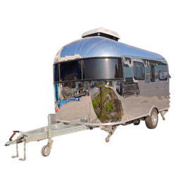 2020 New Factory Travel Camper Off Road Camping Caravan Travel Trailer