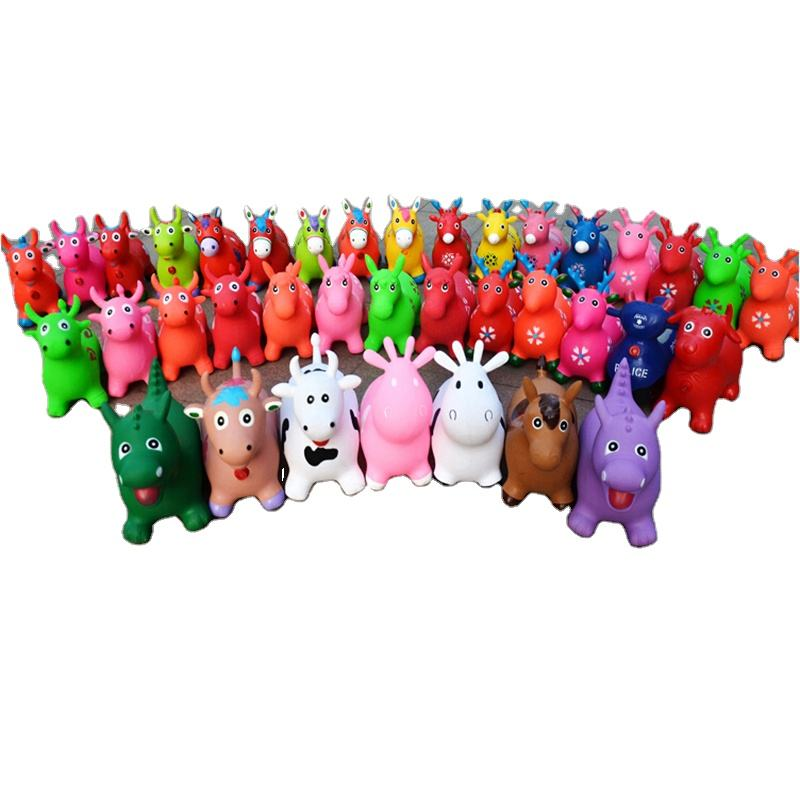 customized size giraffe Inflatable Animal Jump Toy