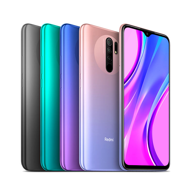 "Xiaomi — smartphone, Redmi 9, ram 64 go, rom 32 go, 6.53 "", téléphone intelligent, terminal Mobile, batterie 5020mAh, version internationale"
