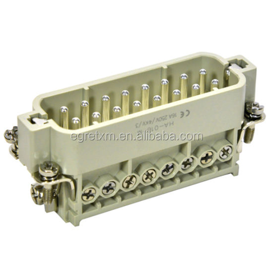 16 pines HA tornillo conector HA-016-F