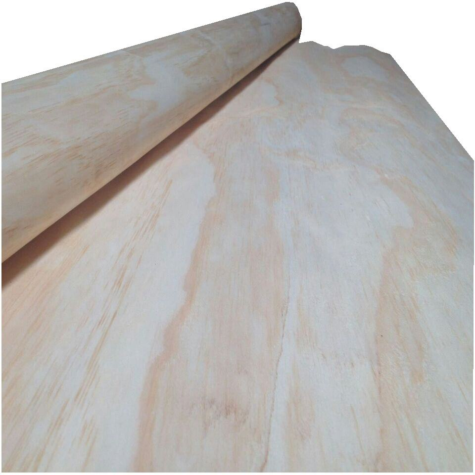 0.15-1.0mm thick laminated larch pine wood veneer face sheets plywood