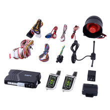 Spy two way LCD remote control keyless system car alarm security system