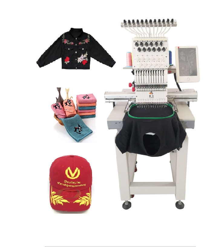 China Computer Pattern Flat Tshirt Logo Home Embroidery Hat Cap Machine For Sewing Embroidery and Quilting Machine Hoops Price