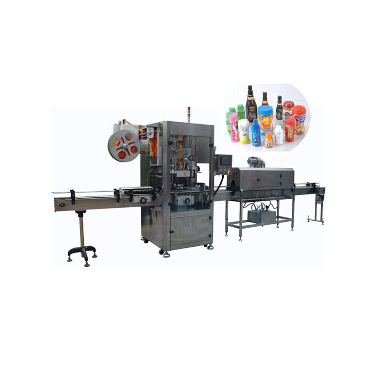 Automatic Bottle Shrink Sleeve Labeling Machine For Round Square Flat Cone PET Bottle