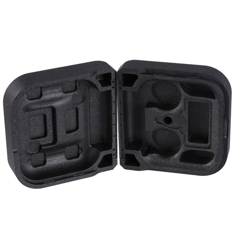 Custom EPP box Durable black EPP foam box styrofoam packaging box
