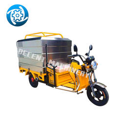 Small Multi-Function High-Pressure Washing Vehicle