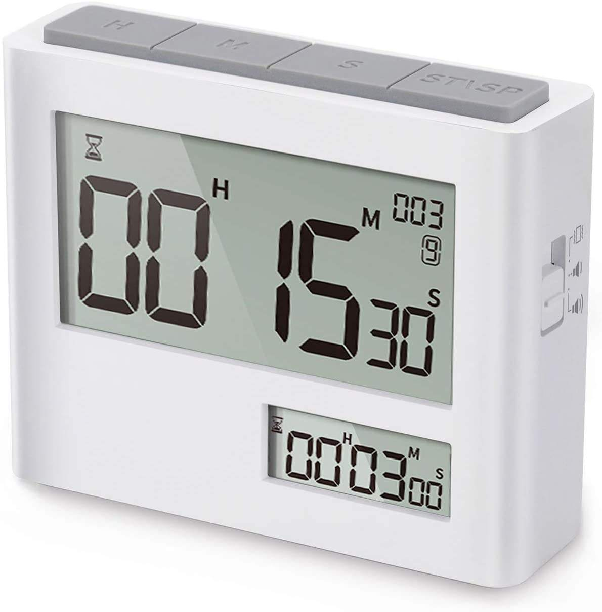 New Pomodoro Clock Timer Coffee Meeting Kitchen laboratory Study Sport Cooking Gym Digital Countdown time timer