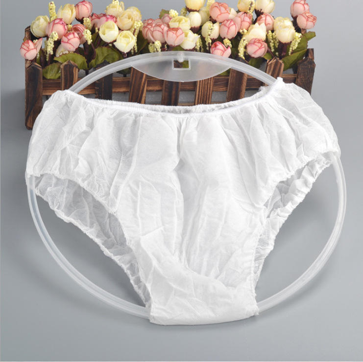 Wholesale Non-woven Breathable Female Spa Disposable Underwear Maternity Disposable Underwear