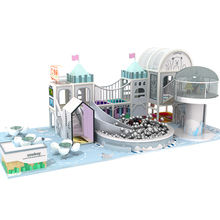 Amusement Park Adventure Plastic Kids Entertain Equipment Kid Soft Play Game Cafe More Than 1000sqm Indoor Playground