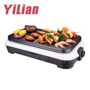 Vertical 1500W tabletop BBQ electric raclette grill with cheese melter fondue Korean barbecue plancha grill