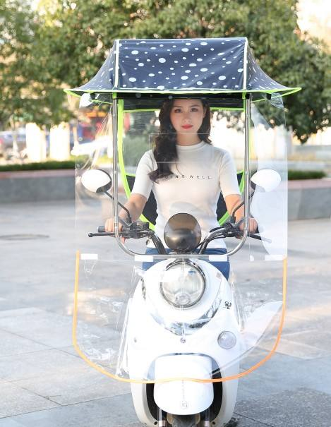 Good quality electric bike umbrella outdoor windproof sunshade cover motorcycle umbrella electric scooter umbrella for rain