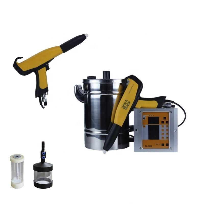 Cheap DVC control manual portable mini powder coating paint electrostatic spray gun system machinery