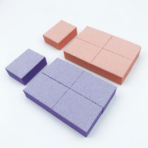 Free Shipping 1500pcs/box EVA Sponge Nail Buffer Block 2 Sides Mini Buffer