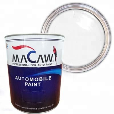 2K solid color car paint fast dry thinner putty with fast dry hardener mirror effect car paint