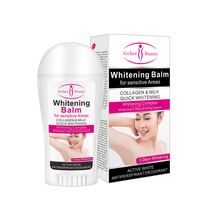 Wholesale Whitening Armpit Stick Antiperspirant for Women Natural Prevent Sweat Mitigate Odour Antiperspirant Deodorant Stick