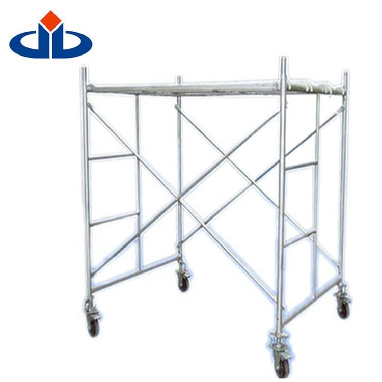 1219X1700mm For Stable Hot Dip Galvanized Climbing Frame Scaffold quick stage scaffolding frame scaffolding