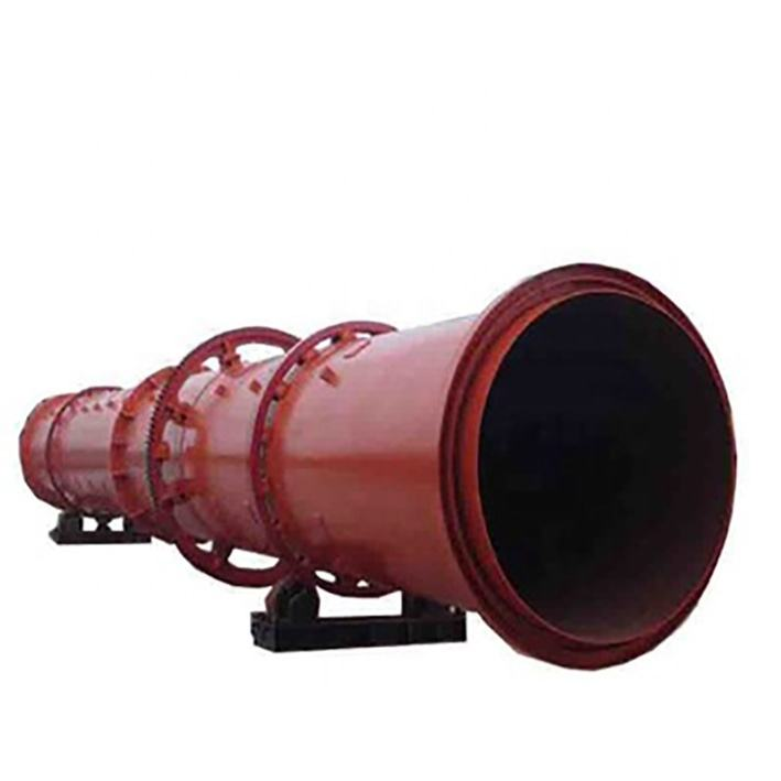 High efficient mineral processing gold mine natural gas horse manure rotary dryer