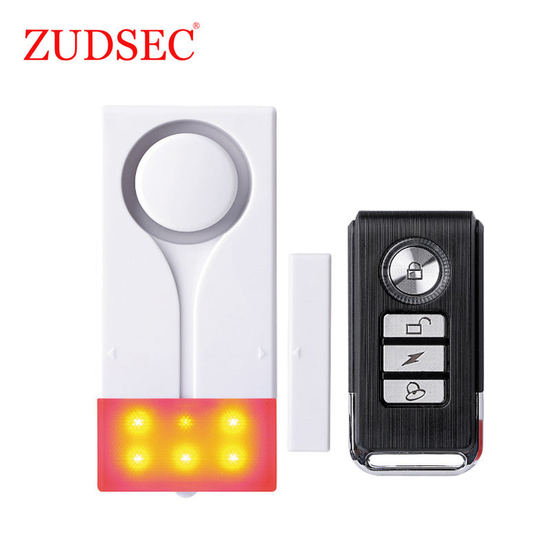 On-Site Anti-Theft Magnetic Window /Door Alarm with Sound and Flash