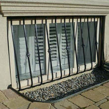 Dongguan Factory Direct Sale Iron Windows Protection For Decorative Window Security Bars Customized OEM