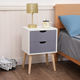 Home Furniture Night Stands New Color Fiesta Night Stands Bedroom Furniture Easy Assembly