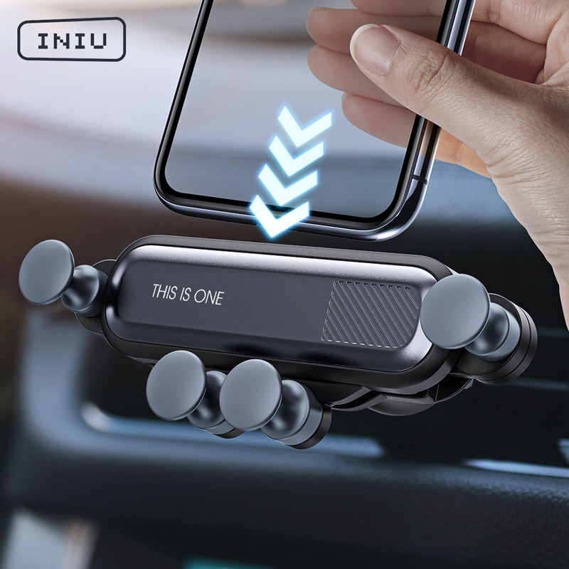 2020 New Arrivals Phone Accessories Car Phone Mount Gravity Air Vent Phone Holder