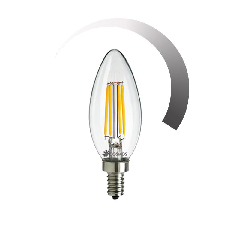 Hias Natal C35 C37 E14 E27 Dimmable Vintage Edison Bohlam <span class=keywords><strong>Ampul</strong></span> Led