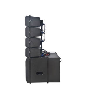 Akurasi Pro Audio LA615D-COMBO Profesional Baru China Pa 1300W Luar Ruangan Line Array Speaker Sound Sistem