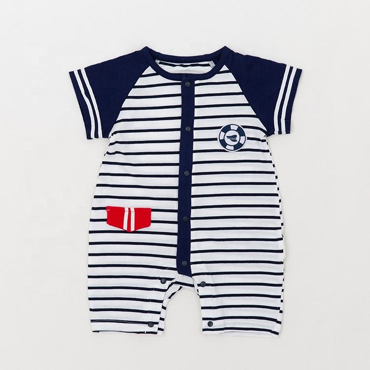 Unique Brand Cheap baby clothing organic rompers baby in China