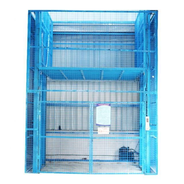 factory Electric Cargo Lift Platform, Warehouse Goods Lift Cargo Elevator