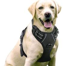outdoor training adjustable no pull pet vest dog harness