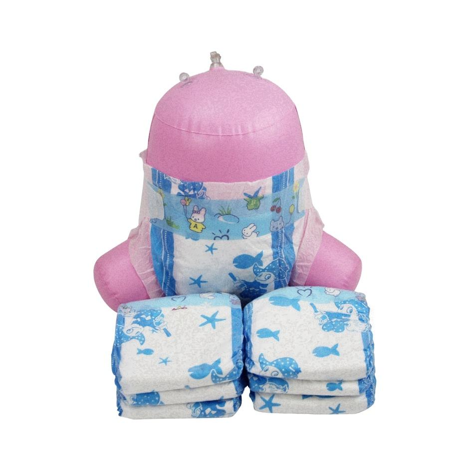Japan sumitomo sap bg mejeak. lx taped organizer hanging pacifier bottle sets portatile ruffle cover baby diaper of baby anne