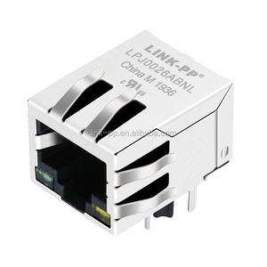 Shielded with Integrated Magnetics Wifi Router RJ45 Jack Connector