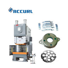 ACCURL JH 21 series aluminum pipe making machine for foil container making machine