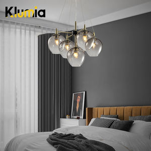 KLUMIA High performance wrought iron arms dinning room hotel chandelier and pendant lamps