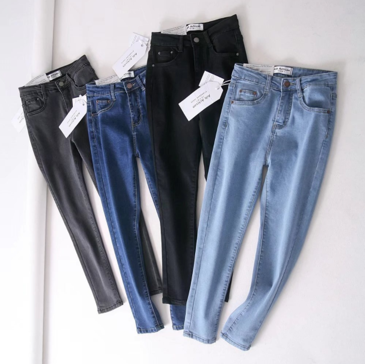 GZY Sexy New Women Jean Leggings Skinny Jeggings Stretchy Slim Fashion Skinny jeans Pants stock lot