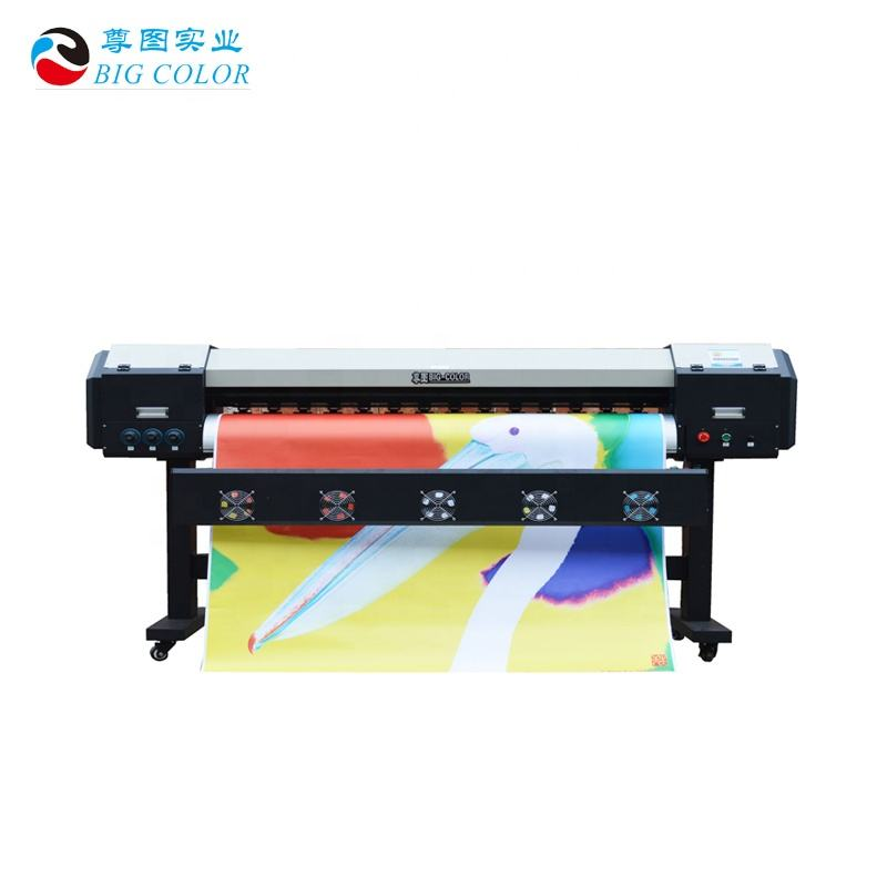 low price 1.6m 1.9m 3.2m continuous roll to roll printing Machine Signs plotter printer eco solvent inkjet xp800/dx8 head