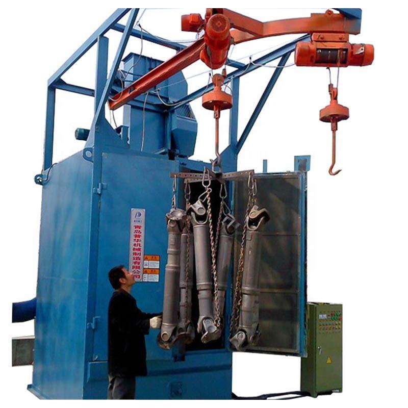 Hook Type Head Rail Shot Blasting Floor Cleaning Machine For Sale