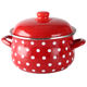 Best price Good quality Christmas cast iron enamel casserole cookware