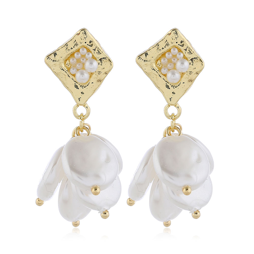Fashion Gold earrings japan gold jewelry For Women Wholesale NS10123