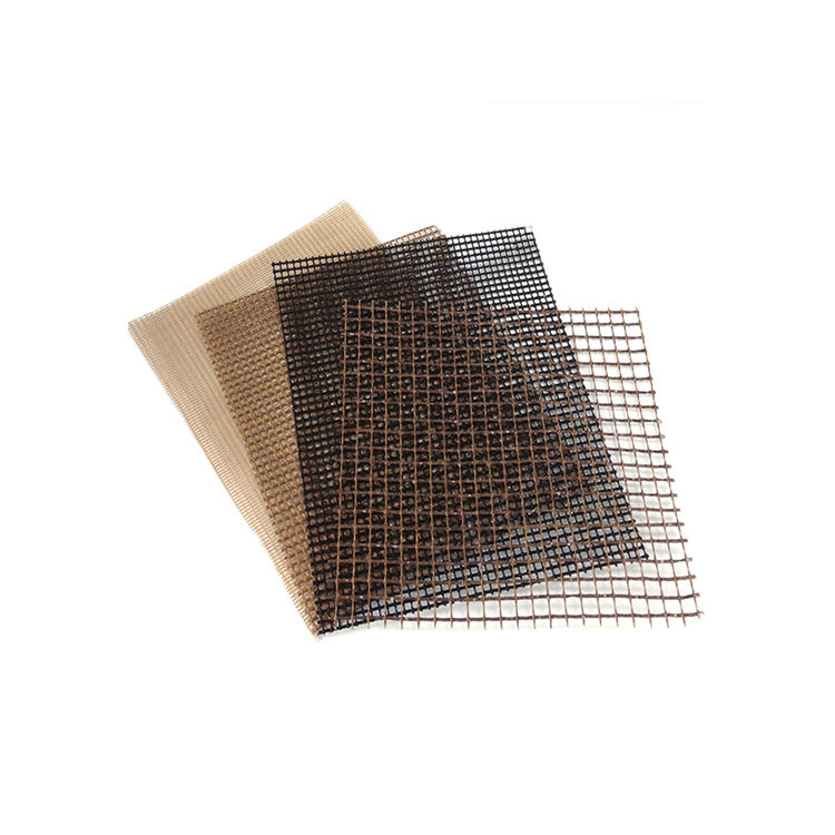 Hot selling Stock Fast Dispatch Easy Clean BBQ Set Grill Mesh Mat Use On Charcoal Gas Grills