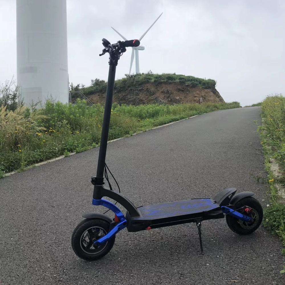 Sporty model Blue color kaabo mantis Waterproof EY3 MINIMOTORS 2000w 24.5ah scooter for big fan