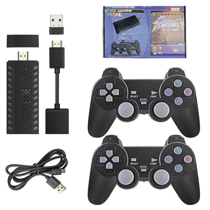 2.4G Retro Video console di Gioco Console Joystick Maniglia Doppia Vibrazione Controller di Gioco Wireless per PS3 & Video Giochi per ps4