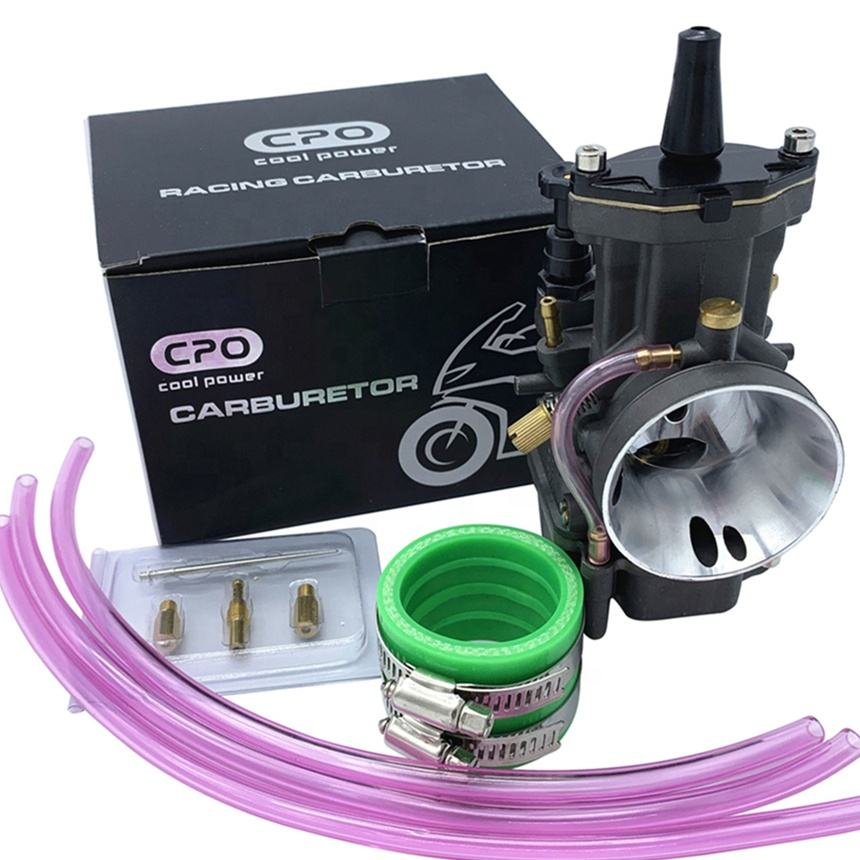 CPO Carburetor PWK28 30 32 34 For Yamaha Honda Suzuki Kawasaki Karburetor Dirt Bike Scooter ATV motorcycle engine systems