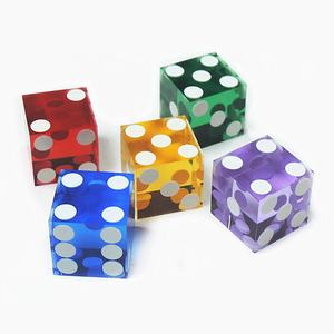 High Strength Acrylic Casino Dice