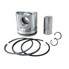 6BT 6D102 QSB5.9 Diesel Engine Piston Kit 3957795 6738-31-2111 3957797 For PC200-7 PC240-6 R225LC-7 excavator