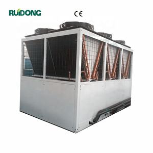 Scroll type 50 Ton air cooled water chiller