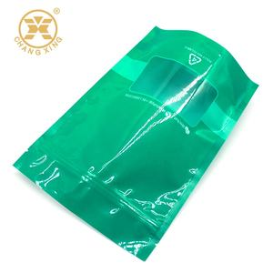 Eco Friendly Bags Plastic Pouch with Zippered Polyethylene Recycle Food bags